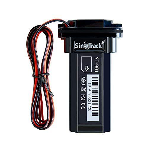 Rastreador GPS de coche de SINOTRACK, localizador de alarma antipérdida, mini dispositivo portátil de localización en tiempo real, resistente al agua para coche, motocicleta, GPS, dispositivo para camión, taxi, compatible con iOS Web Android Plataforma