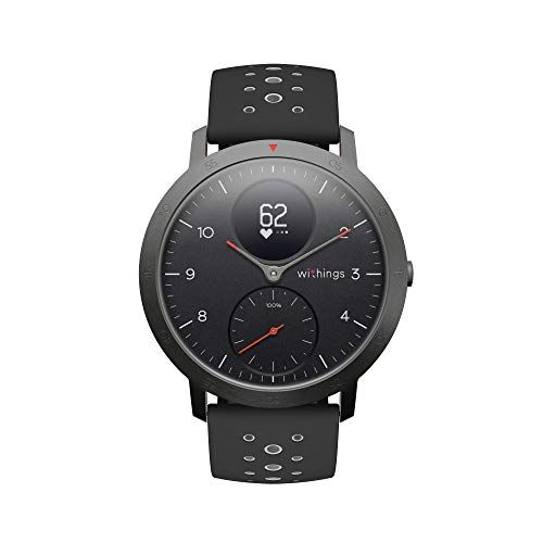 Withings / Nokia | Steel HR Sport Smartwatch (40mm) - Activity Tracker, Heart Rate Monitor, Sleep Monitor, GPS, Water Resistant Smart Watch, Black