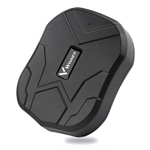 Rastreador GPS Tiempo Real GPS Tracker para Autos Vehículo o Moto Impermeable Localizadores GPS con Imán Fuerte,Batería por hasta 3 Meses,Oculto,Alarma Anti-robo, Límite de Velocidad y Geo-Cerca para Android y IOS TK905