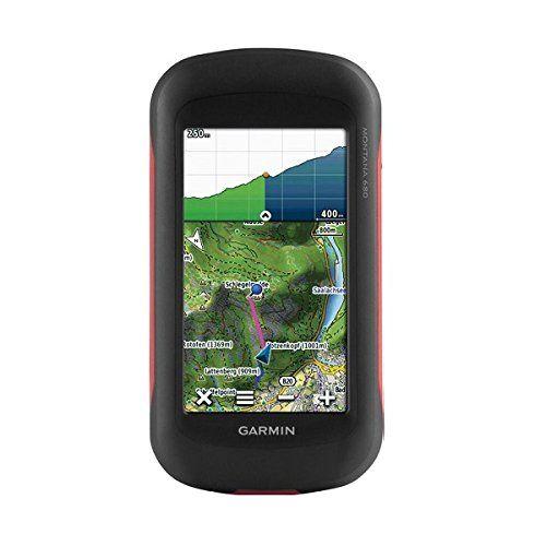 Garmin Montana 680, Touchscreen Hiking Handheld, GPS/GLONASS with 8 Megapixel Camera