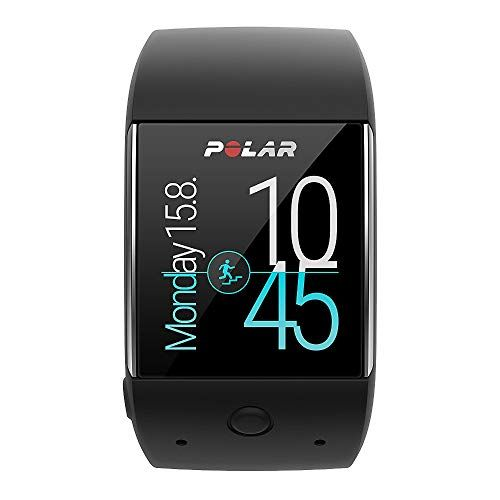 Polar M600 Smartwatch con GPS y frecuencia Cardiaca en la muñeca, Color Negro