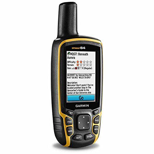 Garmin GPSMAP 64 Worldwide with High-Sensitivity GPS and GLONASS Receiver