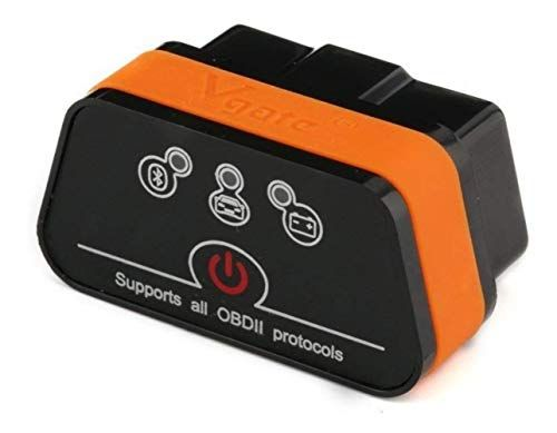 vgate Escaner Automotriz OBD2 por Bluetooth Profesional Icar2 ELM327 para Celular, Android Y Pc-Diagnostico de Coche, Motor, chasis, Temperatura, codigos de Falla