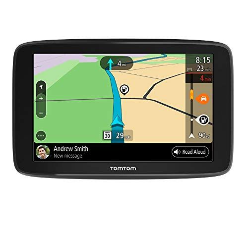 TomTom Go Comfort 6 Inch GPS Navigation Device with Updates via Wi-Fi, Real Time Traffic, Free Maps of North America, Smart Routing, Destination Prediction and Road Trips