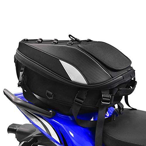 Mochila para casco de motocicleta, portátil, impermeable, de gran capacidad, de fibra de carbono, ligera, para viajes, senderismo, al aire última intervensión, camping, ciclismo, almacenamiento de cámara