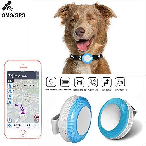 Rastreador GPS para Mascotas, GPS Tracker en Tiempo Real,Localizador GPS Resistente Ligero,GPS Collar Anti-perdido,SOS para ayuda,Valla Electrónica,Trayectoria Histórica, para Perros, Gatos, Ancianos,Niños TK925