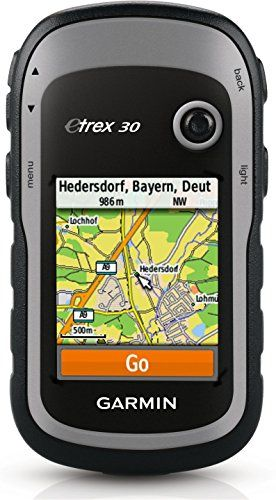 Garmin eTrex 30 Worldwide Handheld GPS Navigator (Renewed)