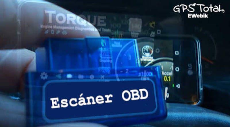 Escáner OBD2