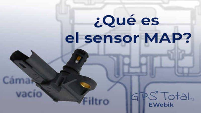 ¿Qué es el sensor MAP?, fallas y funcionamiento