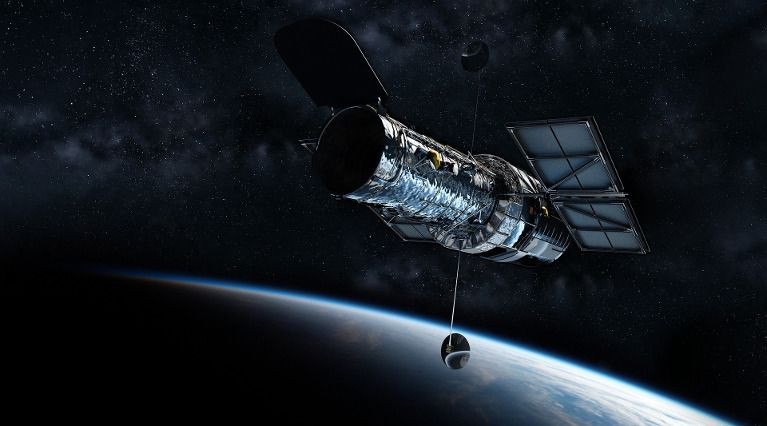imagen de un satelite