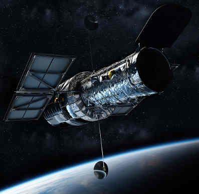Ejemplo de un satélite artificial
