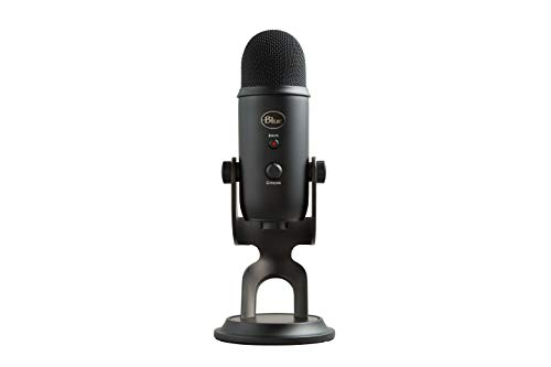 Blue Microphones 2070 Micrófono USB Yeti, color Negro