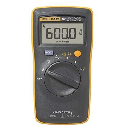 Fluke 101 Basic Digital Multimeter Pocekt Portable Meter Equipment Industrial by Fluke