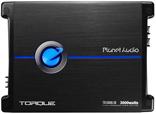 Planet Audio Monoblock - Amplificador de Coche con Control Remoto de subwoofer, monobloque de 3000 vatios