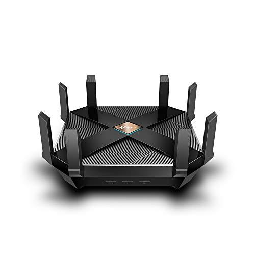 TP-Link WiFi 6 AX6000 Smart WiFi Router - 802.11ax Router, Gigabit, Dual Band, OFDMA, MU-MIMO, Funciona con Alexa (Archer AX6000)