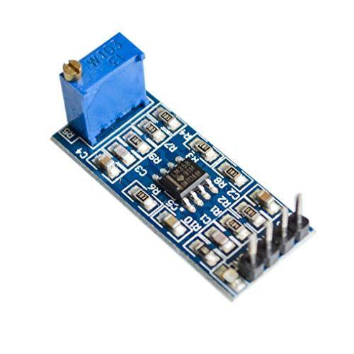 Módulo de amplificador operacional LM358 100 veces de ganancia de 5 unidades