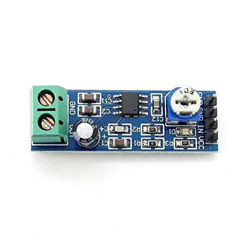 Ganancia De La 5pcs 200veces 5V-12V LM386Amplificador de audio módulo para Arduino ek1236