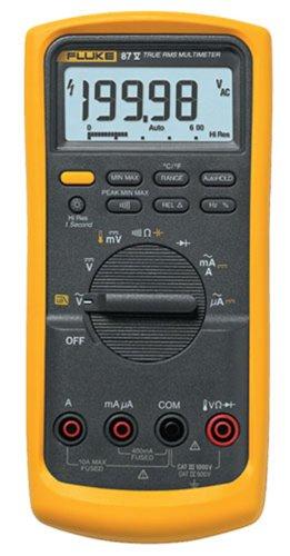 Fluke 87V Digital Multimeter with a NIST-Traceable Calibration Certificate with Data