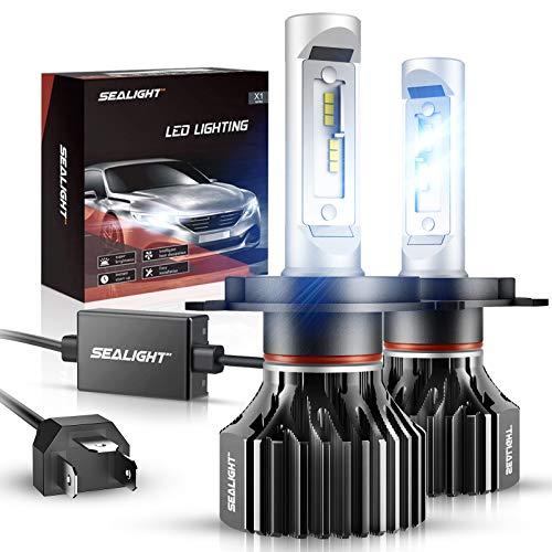 SEALIGHT X1 Series Focos LED para faros delanteros, H4/9003/HB2
