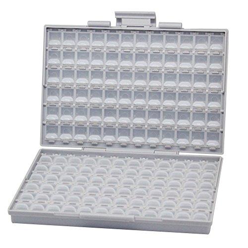 AideTek BOX-ALL Organizador con Compartimientos para Resistor Condensador SMD SMT