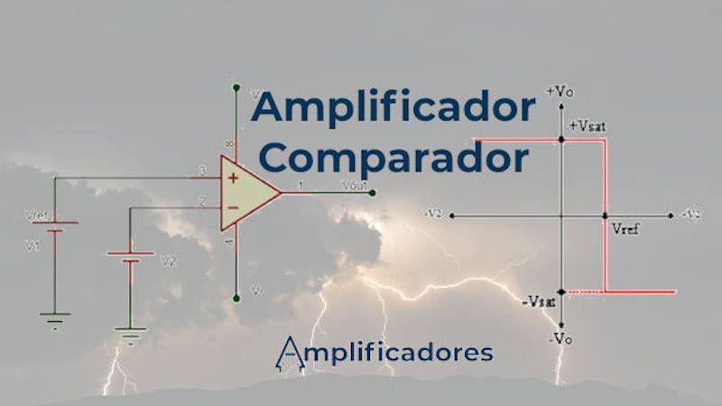 Amplificador comparador, análisis y funcionamiento