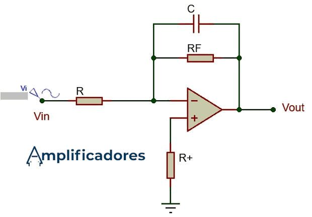 Circuito amplificador integrador práctico