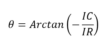 Ángulo de desfase en un circuito rc en paralelo