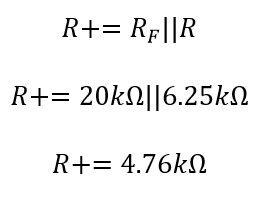 Calcular resistencia de balanceo del amp op integrador