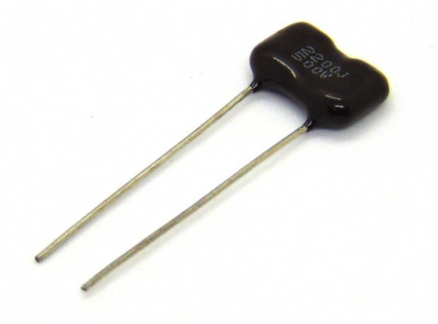 Capacitor de mica de plata 2200J a 500 volts