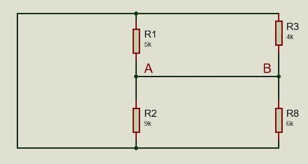 Paso 1 Thevenin, eliminamos fuentes y carga del circuito