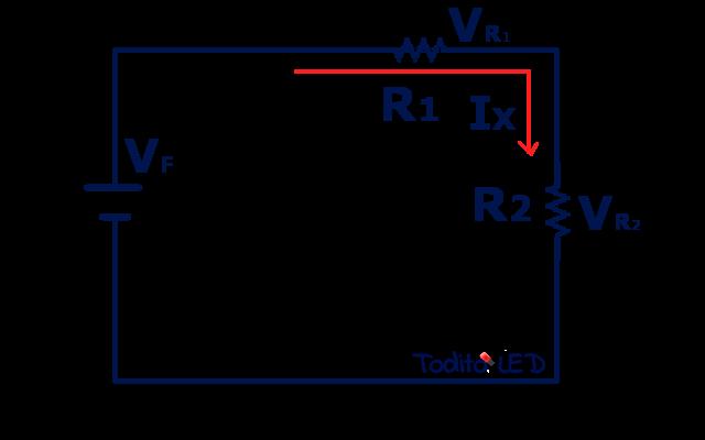 ejercicio circuito eléctrico en serie