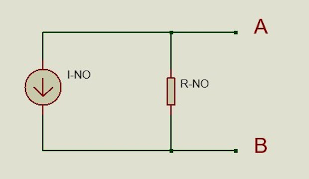 Circuito teorema de Norton