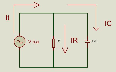 Circuito RC en paralelo