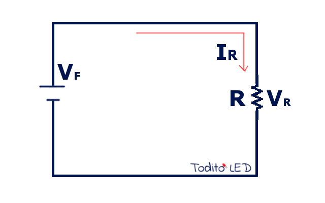 Circuito de un solo receptor