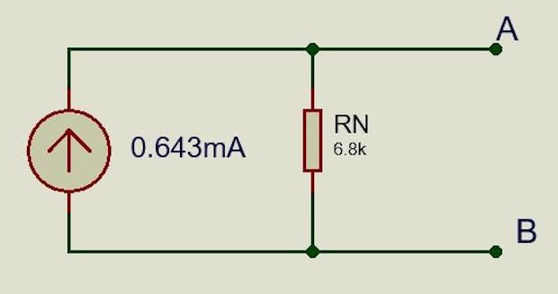 SOLUCION - Circuito equivalente Norton