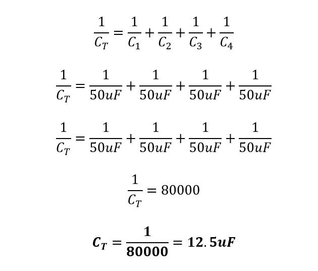 Capacitancia en rama 1 de bancos de capacitores