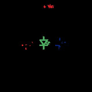 Conexión básica de un LED en serie