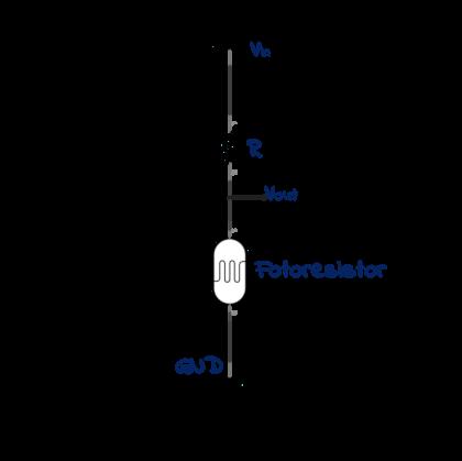 Conexión de Fotoresistor con menor voltaje