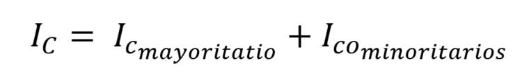 Corriente de fuga en un transistor
