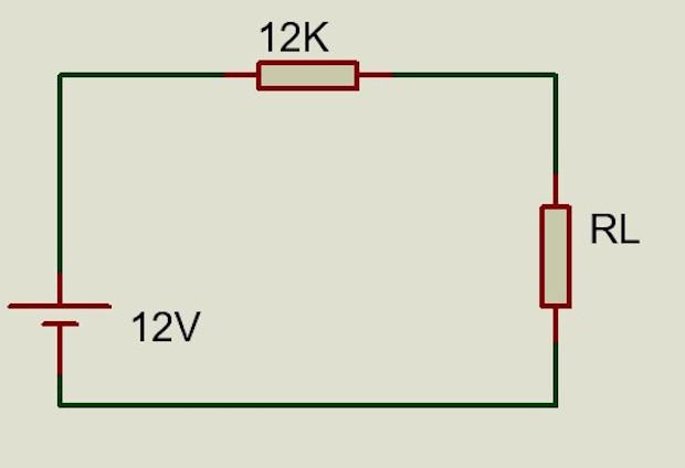 Diagrama ejemplo, convertir de Thevenin a Norton