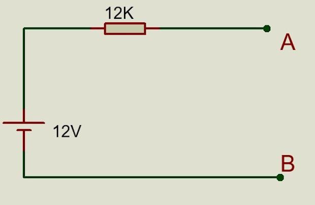 Diagrama equivalente Thevenin a Norton
