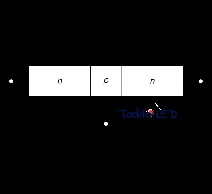 Símbolo del diodo esquema