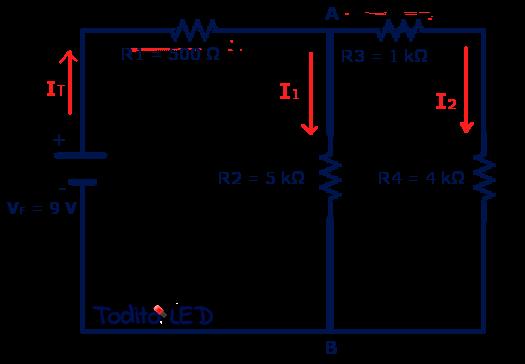 Ejemplo de un circuito mixto