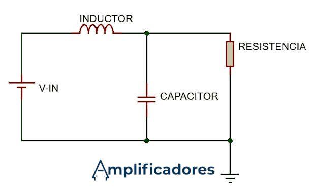 filtro en un amplificador clase D