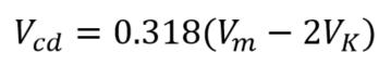 Diodo rectificador polarizado en inversa