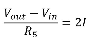 Fórmula de la corriente en términos de voltaje y resistencia para el lm386
