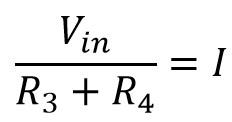 Fórmula de la corriente en términos del voltaje de entrada en el LM386