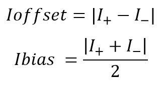 Formulas de corrientes limitantes en AMP OP