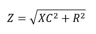 Formula impedancia en circuitos de corriente alterna