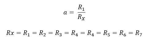 Formula cuando las resistencias son iguales en el amp op de instrumentación